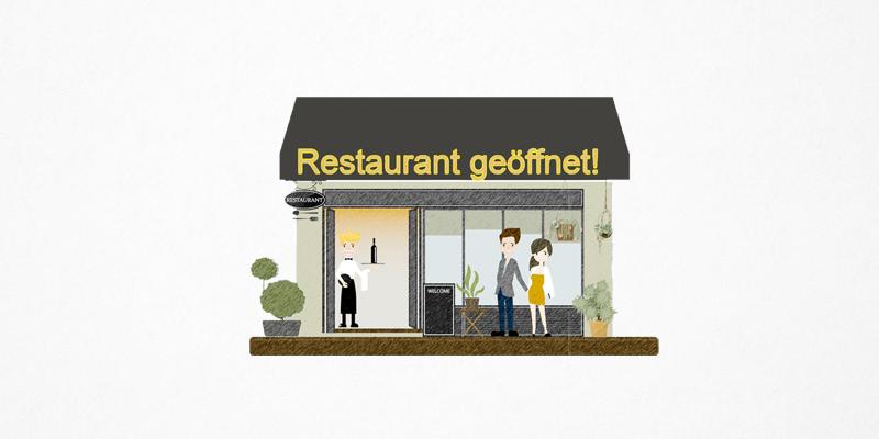 Restaurant-Wiedereröffnung nach Corona: Das Reservierungssystem aleno hilft dabei