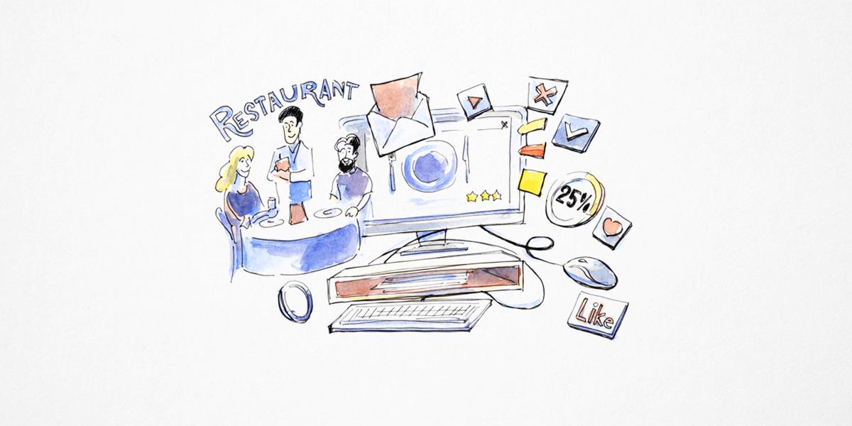 Restaurant-Marketing automatisieren - eine Anleitung in 4 Schritten